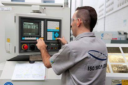 Todas as operações são certificadas conforme ISO 9000:2008